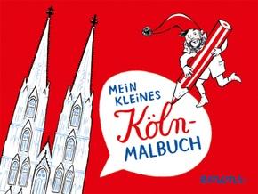 Mein kleines Köln-Malbuch