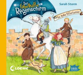 Der fabelhafte Regenschirm - Das große Ritterturnier, 1 Audio-CD