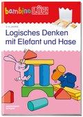bambinoLÜK-Übungshefte: Logisches Denken mit Elefant und Hase; 18