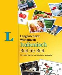 Langenscheidt Wörterbuch Italienisch Bild für Bild