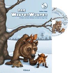 Das Winterwunder, m. Audio-CD