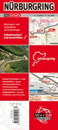 Nürburgring Motorsport- und Freizeitkarte mit Erlebnistipps