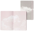 "Inspiration Book ""Cloud Pink"" Jeans Label Material grau/ weiß, innen bunt"