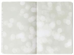 "Inspiration Book ""Pure"" Jeans Label Material grau/ weiß, innen bunt"