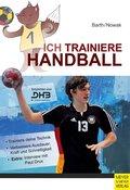 Ich trainiere Handball