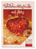 Weihnachtsgrüße mit Herz, Postkartenbuch