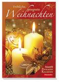 Fröhliche, gesegnete Weihnachten, Postkartenbuch