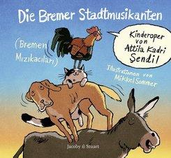 Die Bremer Stadtmusikanten, m. Audio-CD