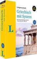 Langenscheidt Griechisch mit System - Sprachkurs für Anfänger und Forgeschrittene, m. 3 Audio-CDs u. 1 MP3-CD
