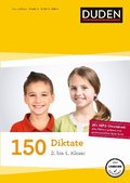 Duden 150 Diktate 2. bis 4. Klasse