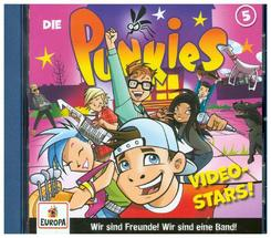Die Punkies - Video Stars, 1 Audio-CD