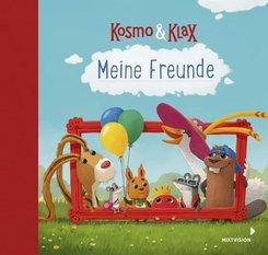 Kosmo & Klax. Meine Freunde Eintragbuch Kindergartenfreunde Freundebuch