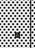 Notizbuch 44 - schwarz-weiß