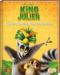 King Julien. Gute-Nacht-Geschichten