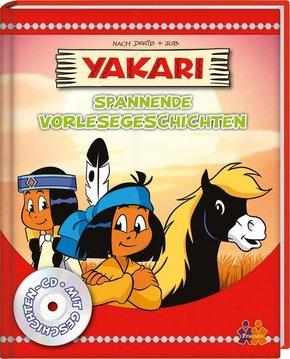 Yakari. Spannende Vorlesegeschichten, m. Audio-CD