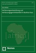 Verfassungsentwicklung und Verfassungsgerichtsbarkeit in Burkina Faso