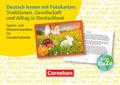 Deutsch lernen mit Fotokarten: Traditionen, Gesellschaft und Alltag in Deutschland