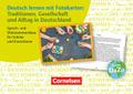 Deutsch lernen mit Fotokarten: Gesellschaft und Alltag in Deutschland