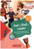 DaF-/DaZ-Lieder, mit Audio-CD