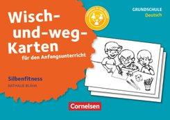 Wisch-und-weg-Karten für den Anfangsunterricht - Deutsch