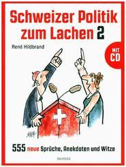 Schweizer Politik zum Lachen 2, m. DVD