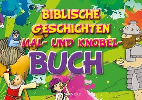 Biblische Geschichten Mal- und Knobel-Buch