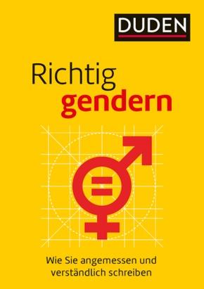 Richtig gendern