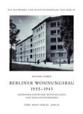 Berliner Wohnungsbau 1933-1945