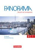 Panorama - Deutsch als Fremdsprache: Kursbuch Kursleiterfassung, Gesamtband; .B1