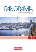 Panorama - Deutsch als Fremdsprache: Testheft, Gesamtband, m. Audio-CD; Bd.B1