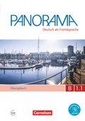 Panorama - Deutsch als Fremdsprache: Übungsbuch DaF mit Audio-CD; Bd.B1.1 - Tl.1
