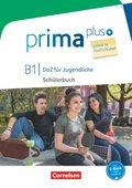 Prima plus - DaZ für Jugendliche, Leben in Deutschland: B1 - Schülerbuch mit MP3-Download