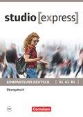 studio [express]: Übungsbuch A1 A2 B1 mit Audios online