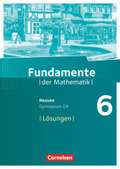 Fundamente der Mathematik, Gymnasium G9 Hessen: 6. Schuljahr, Lösungen zum Schülerbuch