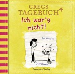 Gregs Tagebuch - Ich war's nicht!, Audio-CD
