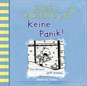 Gregs Tagebuch - Keine Panik!, Audio-CD