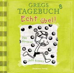 Gregs Tagebuch - Echt übel!, Audio-CD