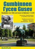 Stadtplan Gumbinnen / Gusev (Gussew)