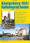 Stadtplan Königsberg 1931 Kaliningrad heute