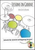 Lessons in Groove - Schritt für Schritt Schlagzeug lernen, m. 1 Audio-CD