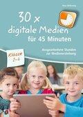 30x digitale Medien für 45 Minuten - Klasse 1-4