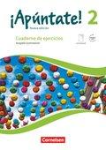 ¡Apúntate! - Nueva edición: Cuaderno de ejercicios mit eingelegtem Förderheft, Ausgabe Gymnasium; .2