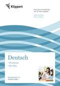 Deutsch 1/2, Wortarten - Der Satz