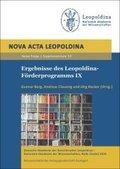 Ergebnisse des Leopoldina-Förderprogramms IX