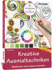 Kreative Ausmaltechniken - Malbücher zum Leben erwecken!