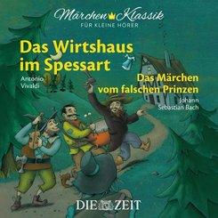Das Wirtshaus im Spessart und Das Märchen vom falschen Prinzen, 1 Audio-CD