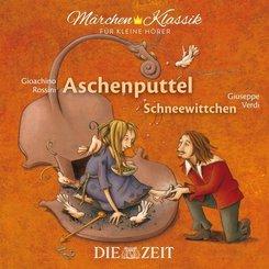 Aschenputtel und Schneewittchen, 1 Audio-CD