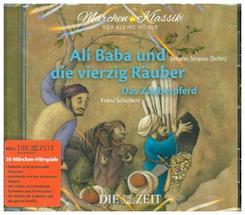 Ali Baba und die vierzig Räuber und Das Zauberpferd, 1 Audio-CD