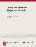 Allegro und Menuett, 2 Flöten