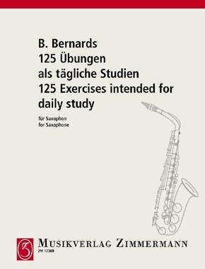 125 Übungen als tägliche Studien, Saxophon